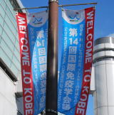 14th International Congress of Immunology in Kansai, Japanノボリ